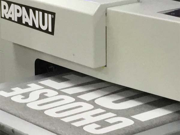 Rapanui t-shirt printing