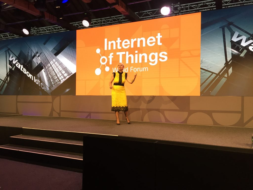 Technology Management Image: Harriet Green's Keynote At IoT World Forum: Unlocking The