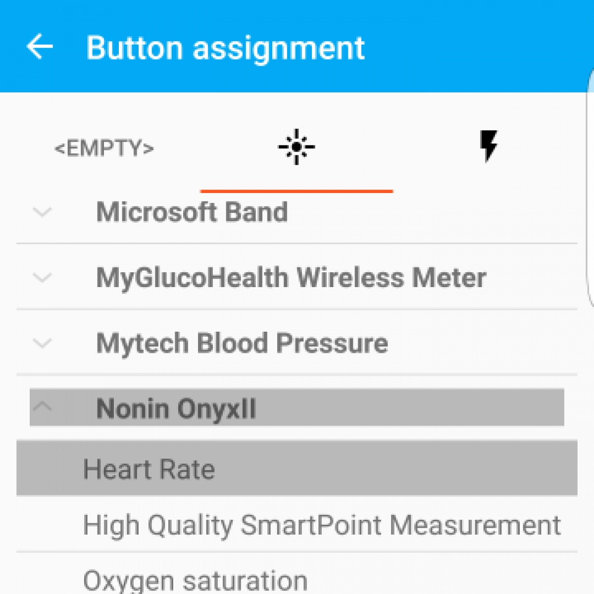 Back to basics -  a new eHealth sensor supported: Nonin OnyxII